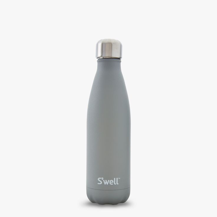 17 oz Stone Collection Water Bottle | Smokey Quartz | S'well