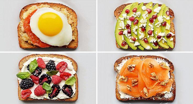 20 крутых бутербродов на завтрак