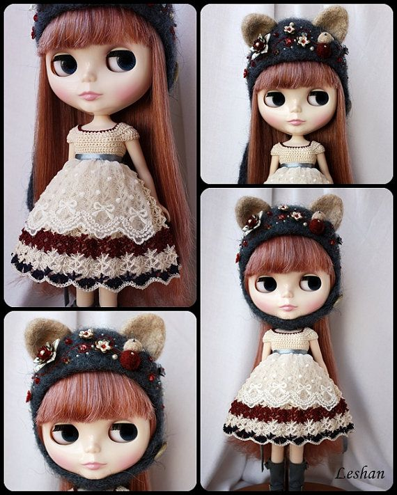 Beautiful Special Kitty Set for Blythe by leshan on Etsy