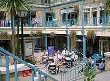 Picture of local mall in the Montpellier District