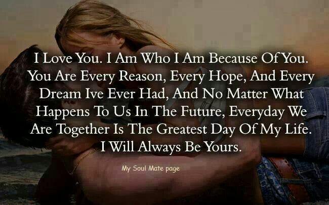 Deep Words Of Love