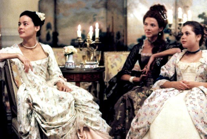 Valmont movie - 1989 - received an Academy Award nomination for Best Costume Design (Theodor Pištěk).