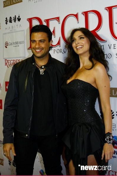 Jaime Camil and Blanca Soto pose for a photograph during the presentation of 'Regressa' movie at the cinepolis Antara on January 19, 2010 in Mexico City, Mexico. (Photo by Juan Villa/Jam Media/LatinContent/Getty Images)