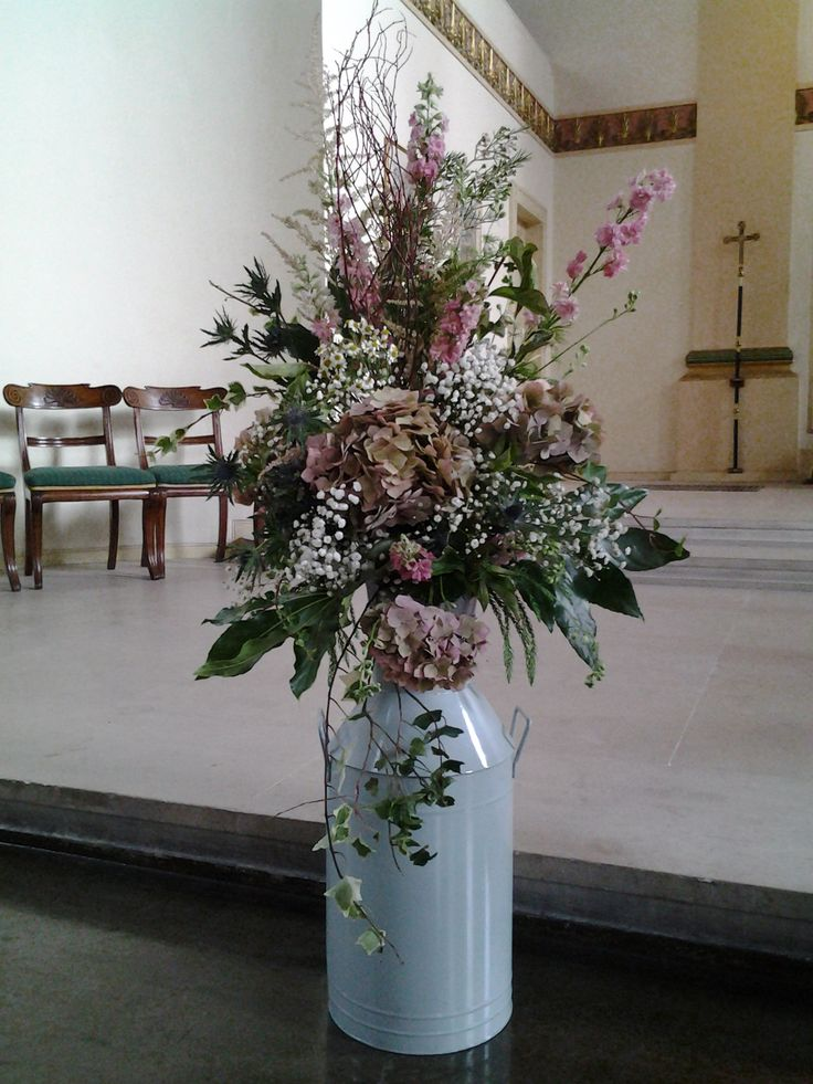 Church entrance arrangement