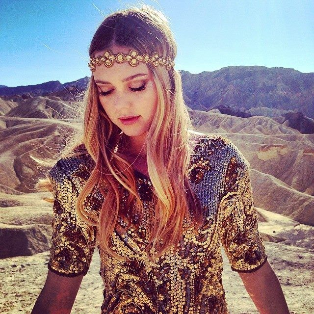 Johanna Söderberg from First Aid Kit (Stay Gold album photo shoot)