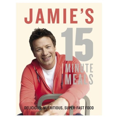 Jamie's 15-Minute Meals : Jamie Oliver some great quick meals    I so need this book as I have been catching up on this series on TV!