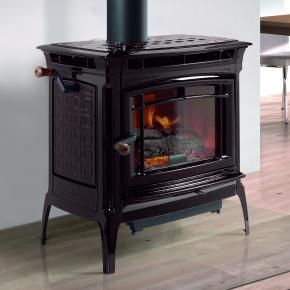 The big beautiful new manchester wood stove from for Small efficient wood stoves