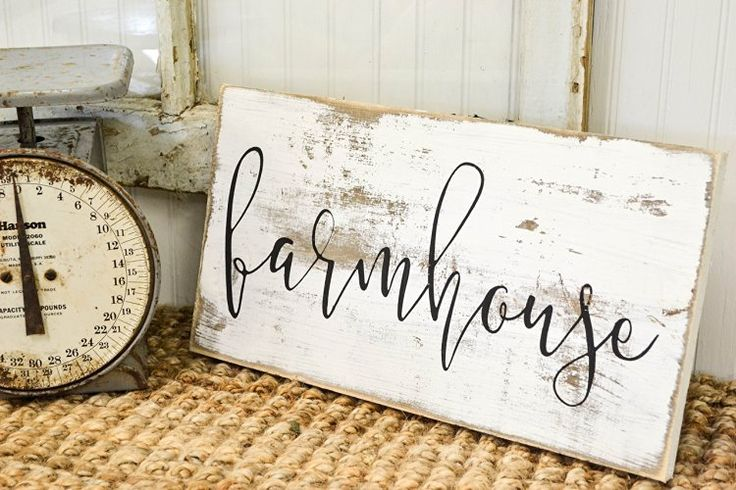 Farmhouse Finds Rustic Sign