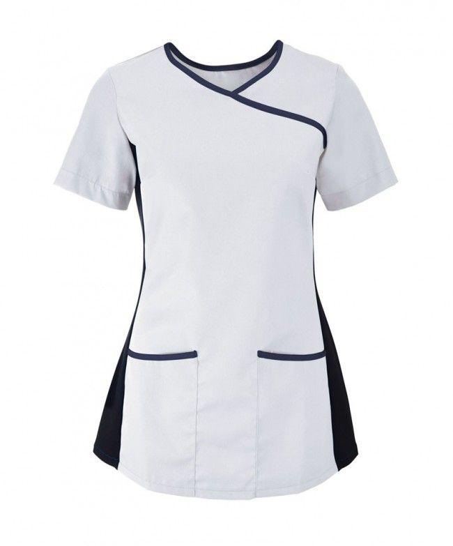 Espinosa Women's Stretch Scrub Top - Salonwear