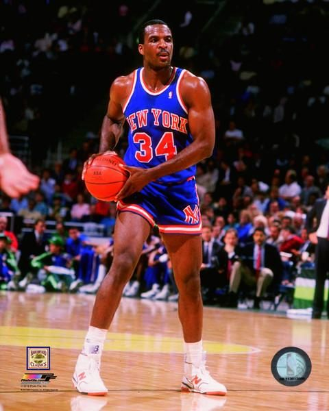 Charles Oakley, who played for the New-York Knicks from 1988 to 1998.