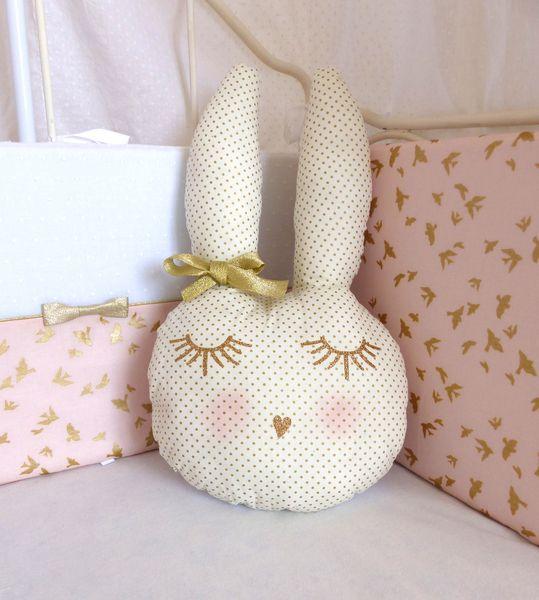 Coussin #lapine pour chambre d'enfant
