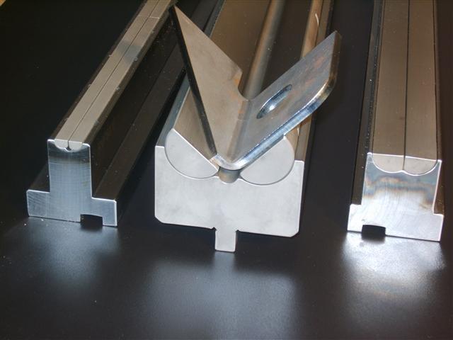 Elminate Distortion On Tapered Flange Press Brake