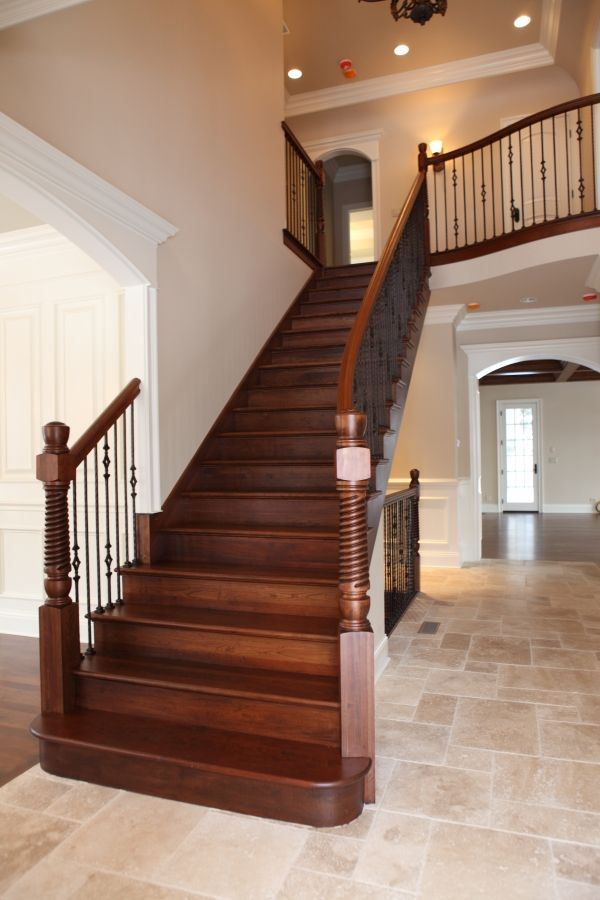 10 best Stairs images on Pinterest   Wooden stairs ...