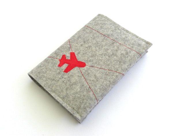 Книга сумки паспорт Чехол шерсть войлок – это уникальный товар по susannes-креатив-страница на приносящая друзей