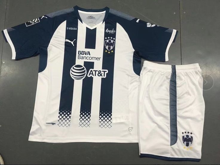 2017/18 Adult Monterey Home Soccer Jersey Uniforms Cheap Uniformes De futbol Kits