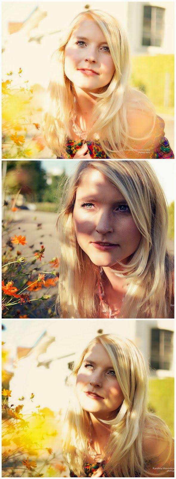Summer lights- portrait, pastel photography