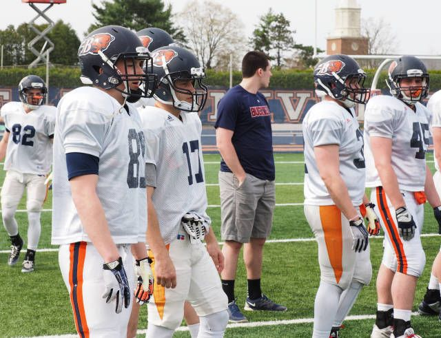 Photo Gallery: Football Spring Practice - Bucknell University