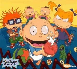 The #Rugrats gang