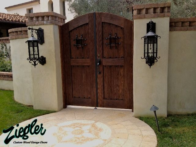 24 best images about hacienda gates on pinterest agaves for French country garage doors