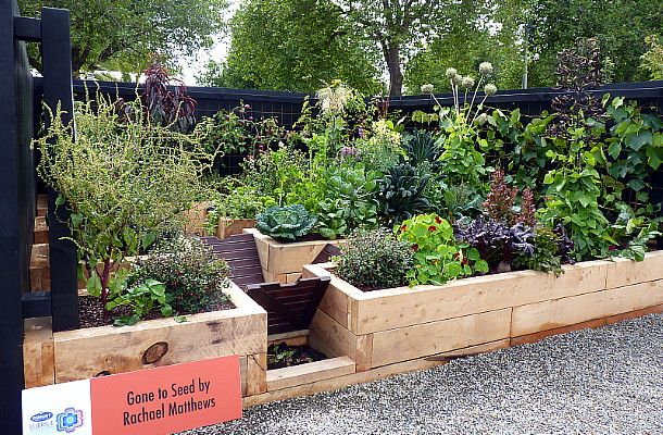 A sustainable, award winning vegetable garden, designed by HEDGE Garden Design & Nursery