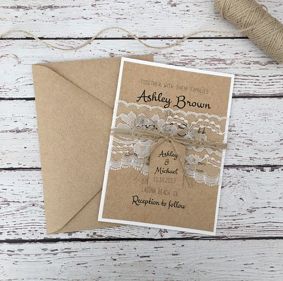 56 best wedding invitations images on pinterest bridal