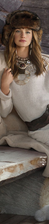 Ralph Lauren Beaded Cashmere-Blend Sweater | LOLO❤︎