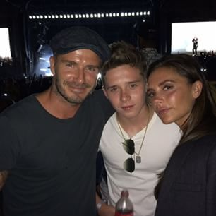 So you might have heard of Brooklyn Beckham, the eldest son of football (for the sake of the British) legend David and Spice Girl/fashion designer extraordinaire Victoria. | David Beckham Just Gave His Son Brooklyn The Most Amazing Burn