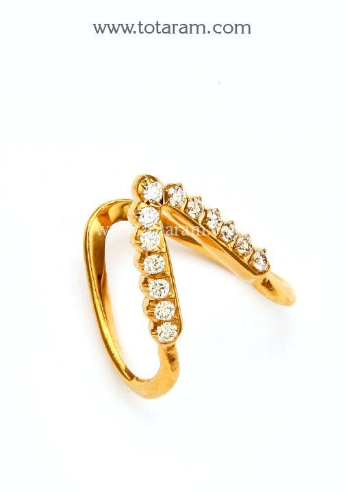 "Totaram Jewelers on Twitter: ""#22K Gold #Diamond #Vanki Ring…"