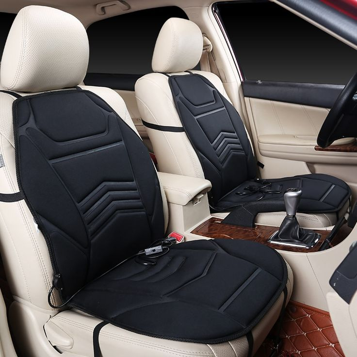 [FREE SHIPPING] KKYSYELVA 1pcs Car Heated Seat Covers Auto