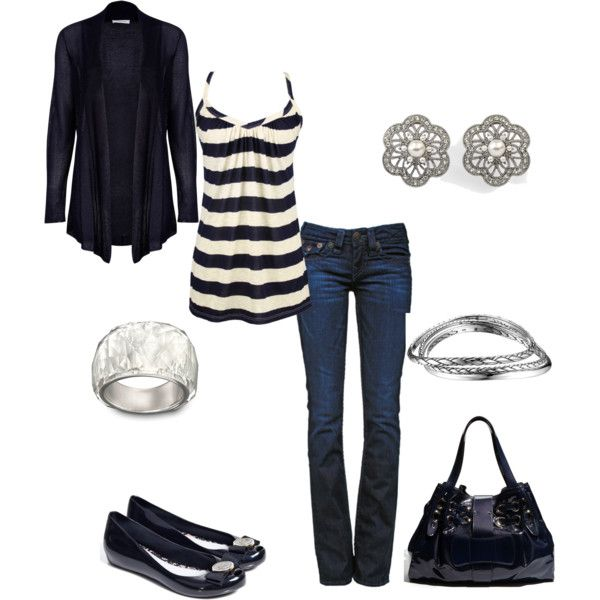 stripes!: Shoes, Everyday Wear, Dreams Closet, Style, Black And White, Cute Outfits, Tanks Tops, Black White, Cute Clothing