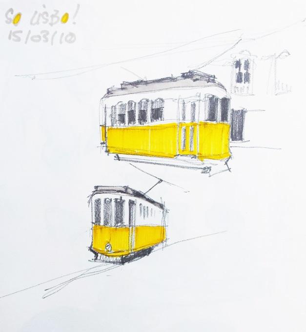 Croquis Lisbonne- Didier Versavel