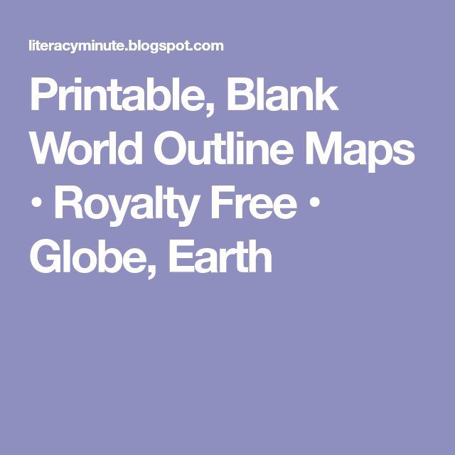 The Best Blank World Map Ideas On Pinterest World Map - Blank world map scholastic