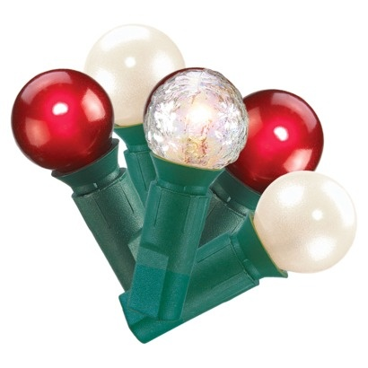 Pearl String Lights Red White Green : Pin by HappyInMyHeart on Santa Claus Is Comin to Town! Pinterest