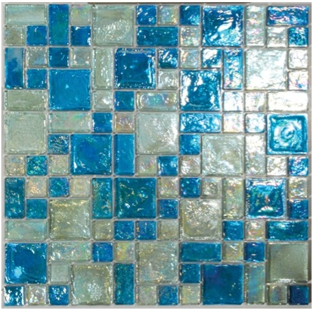 38 Best Images About Reflections Iridescent Glass Tile