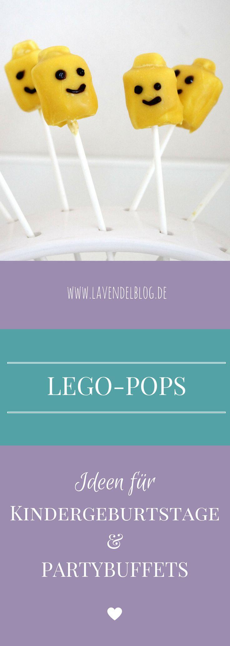 Passend für einen Lego Kindergeburtstag findet ihr bei uns ein Lego Marshmallow Pops Rezept. Die Lego Pops sind nicht nur eine geniale Kindergeburtstag Idee, sondern eignen sich auch als Partybuffet Idee. Ein Problem weniger beim Kindergeburtstag planen, oder?