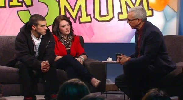 Joey Maes  Katie Yeager talk to Dr. Drew on Teen Mom 3 Reunion