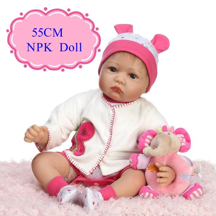 84.87$  Watch now - http://alidr7.worldwells.pw/go.php?t=32709487748 - Super Adora 55cm 22''real Baby Dolls For Sale With Fashion Baby Doll Clothes Hot Welcome Brinquedos Para Bebe Above 3 Years Old