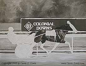 This is Guienne Hanover (photo by Jeff Coady, Coady Photography). In 2007, Guienne Hanover became the world's fastest three-year-old trotting filly when she trotted one mile in 1:51.2 on October 20, 2007. The previous track and world record was 1:54 and the North American record for the same distance was 1:52. The record setting race Read More