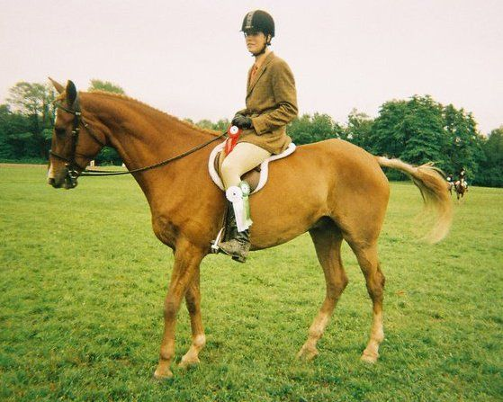 Further on my agricultural origins I love horses. My mom rode when she was pregnant so it's always been in my blood and I continue to do it bi weekly at a stable in Northwood in London despite the large costs and giving up most of my Sunday.
