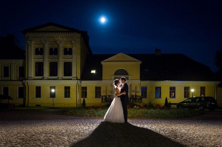 Zdjęcia ślubne nocą