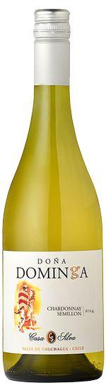 LBV International   Nos vins - Casa Silva, Dona Dominga, Chardonnay Semilion 2013