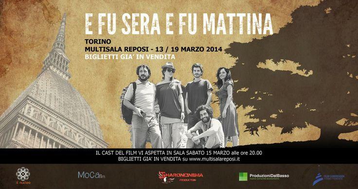 E FU SERA E FU MATTINA. Film prodotto interamente dal basso con un budget di 70.000 Euro è stato girato in crowdfunding e crowd equity. www.efuseraefumattina.it