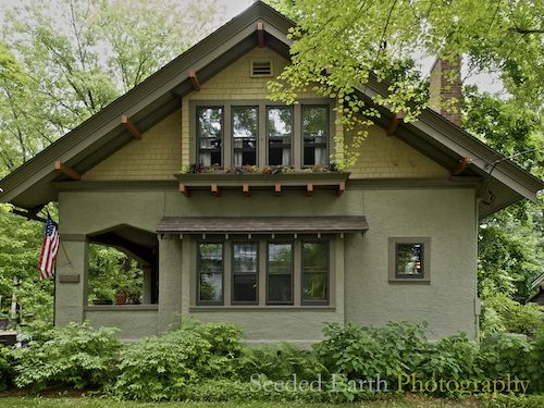81 best craftsman style houses images on pinterest for Historic craftsman house colors