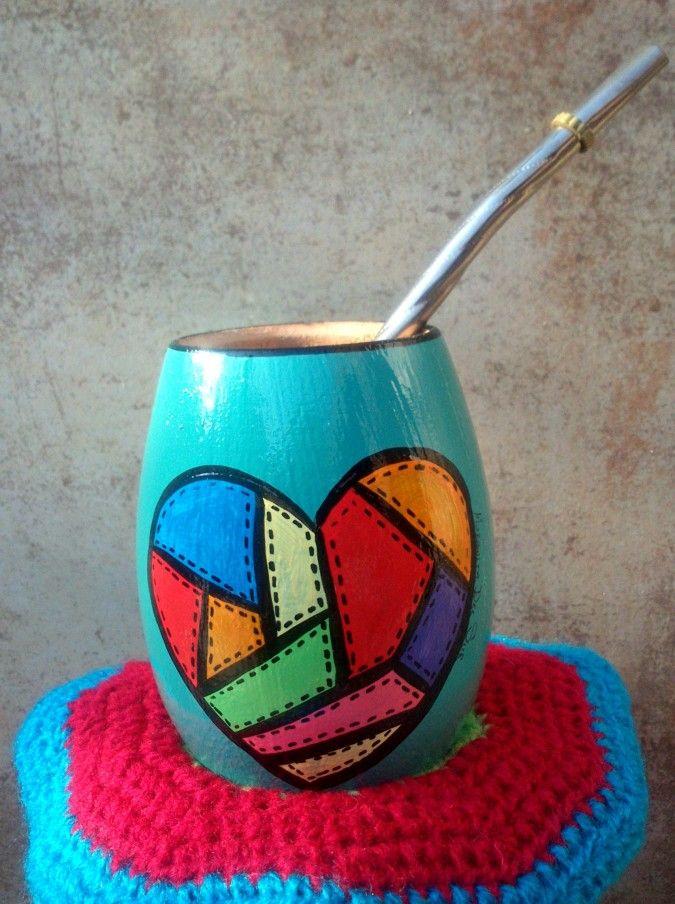 ��Murgui-MATES��  Son únicos, divertidos, coloridos y con diseños exclusivos.  No hay dos iguales!!! Todos están pintados a mano e impermeabilizados para su conservación a pesar de los lavados.  Elegí el tuyo!