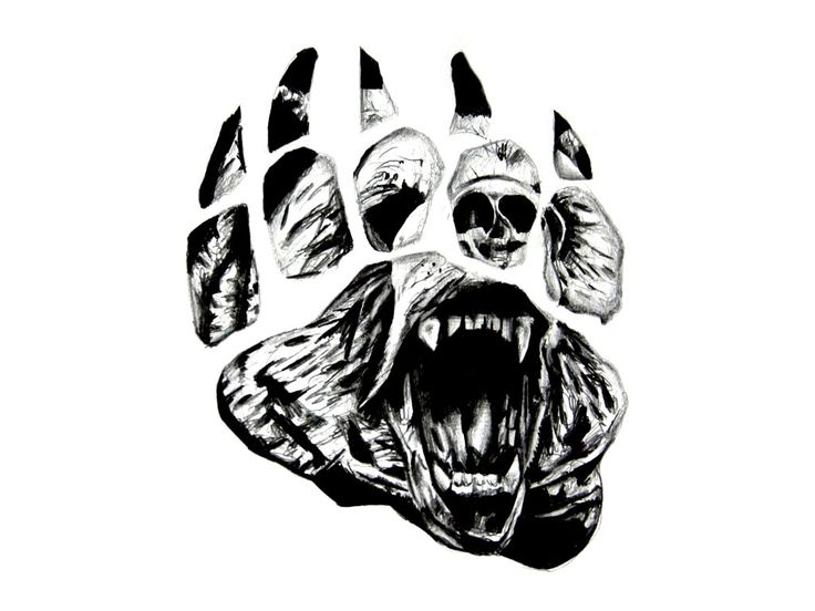 Tribal Grizzly Bear Tattoo Designs Wallpaper Lcpsdht