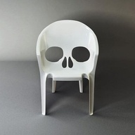 Make for boys room: Skulls, Skull Chairs, Patio Chairs, Sake Chair, Plastic Chairs, Seats, Pools, Products, Design