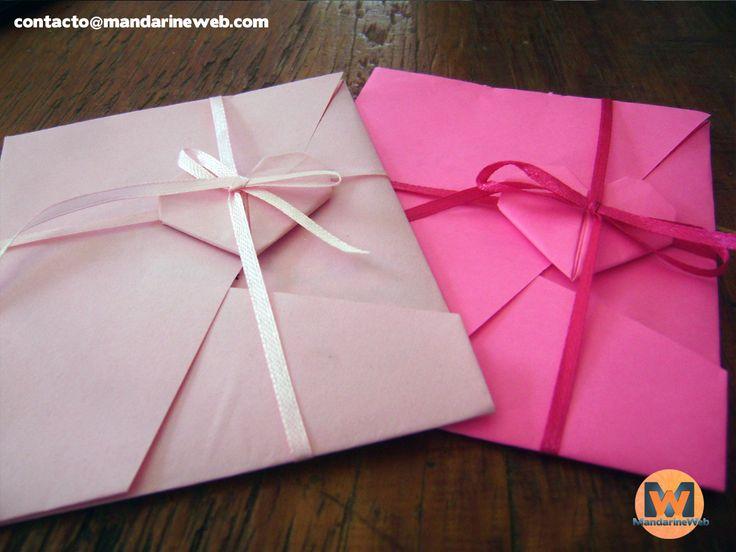 Sobres origami
