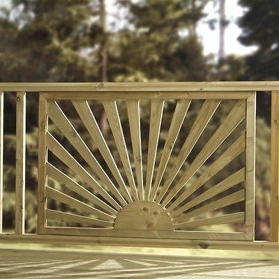 Best Details About Sunrise Sunburst Decking Panel Green 400 x 300