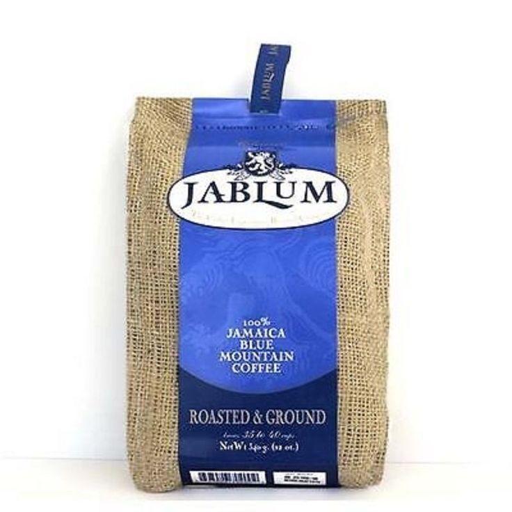 jablum 100 percent jamaica blue mountain oraganic coffee roasted and ground 8 oz #Jablum