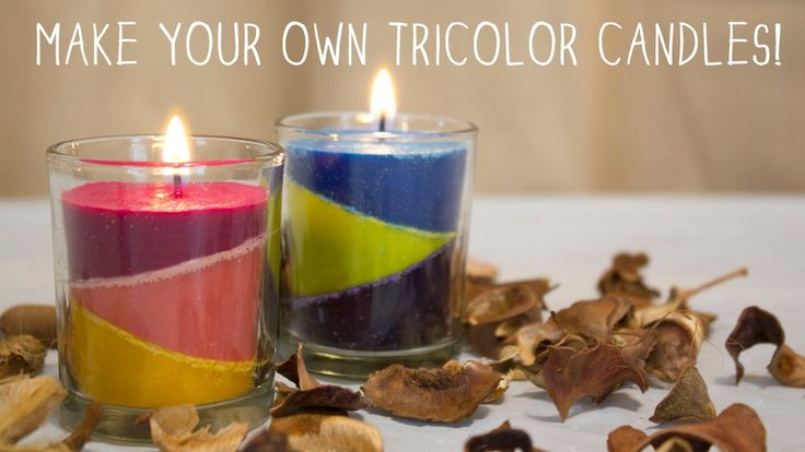 how to make my own candles